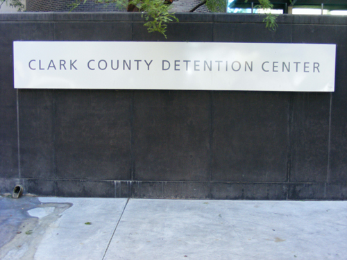 Clark County Detention Center - Front Sign